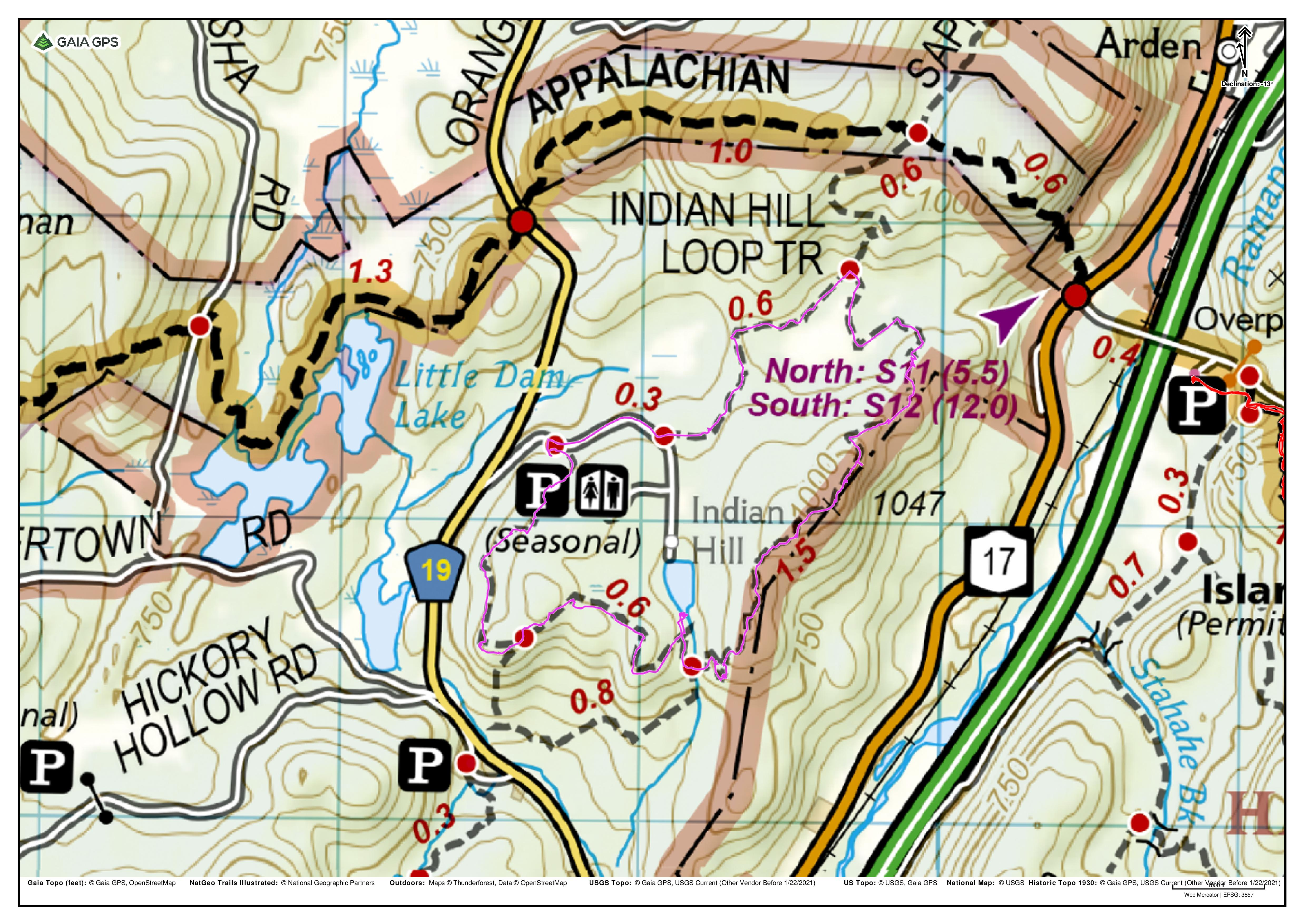 Indian Hill Loop – Sterling Forest State Park