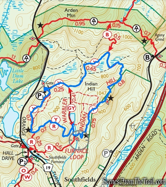 Indian Hill Loop Trail – Sterling Forest State Park