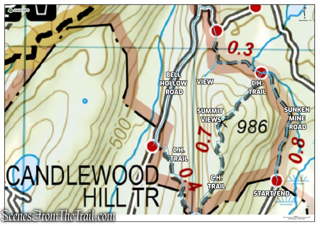 Candlewood Hill Loop – Fahnestock State Park