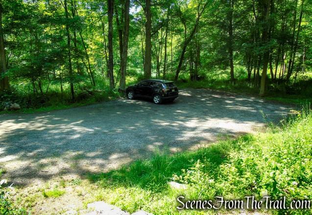 Parking lot – Granite Mountain Preserve