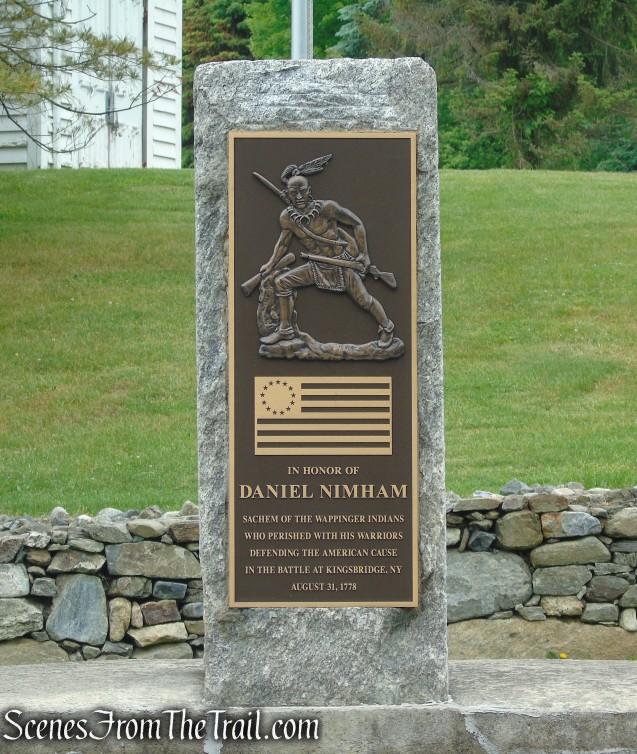 Daniel Nimham statue - Putnam County Veterans Memorial Park