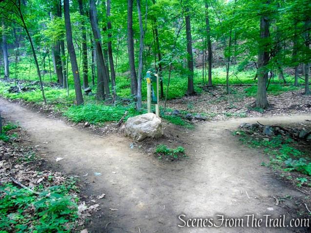 Turn right on Nimham Trail