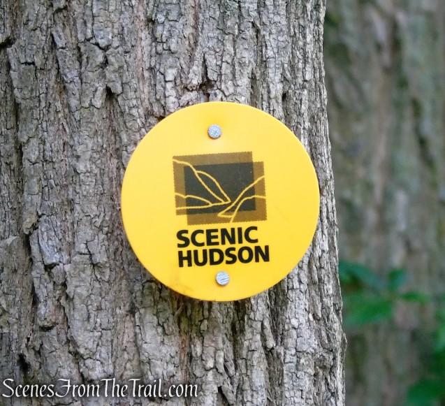 Scenic Hudson trail marker