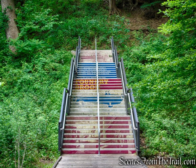 The Staircase - West Point Foundry Preserve