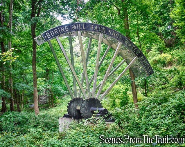 Water Wheel - West Point Foundry Preserve