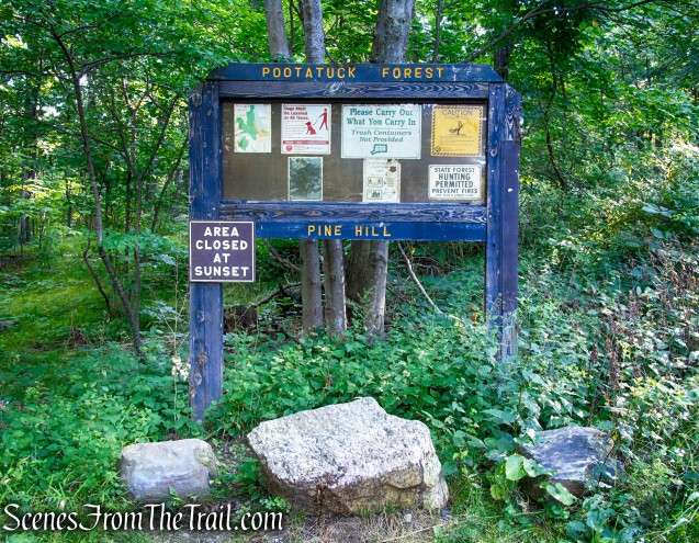 Pine Hill Trailhead - Pootatuck State Forest