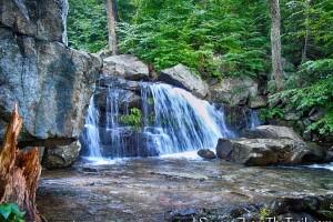 Upper Mineral Springs Falls - Black Rock Forest